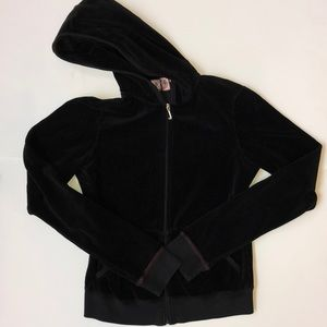 JUICY VELOUR TRACK JACKET--SIZE LARGE--EXC. COND.